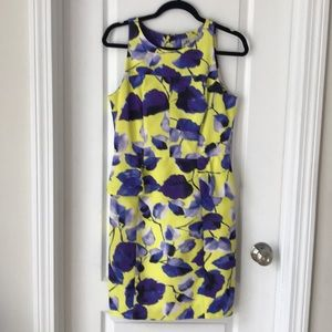 Yellow floral Milly dress